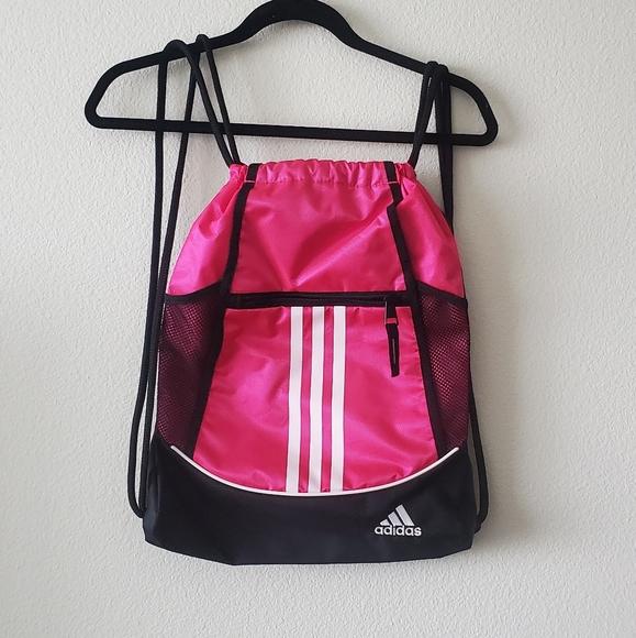 Adidas Alliance sackpack drawstring bag
